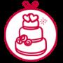 کیک عروسی کاشان